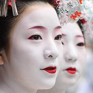национальный японский макияж